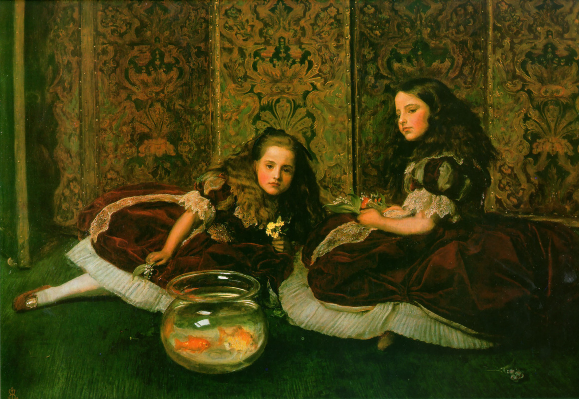 John Everett Millais. Leisure time