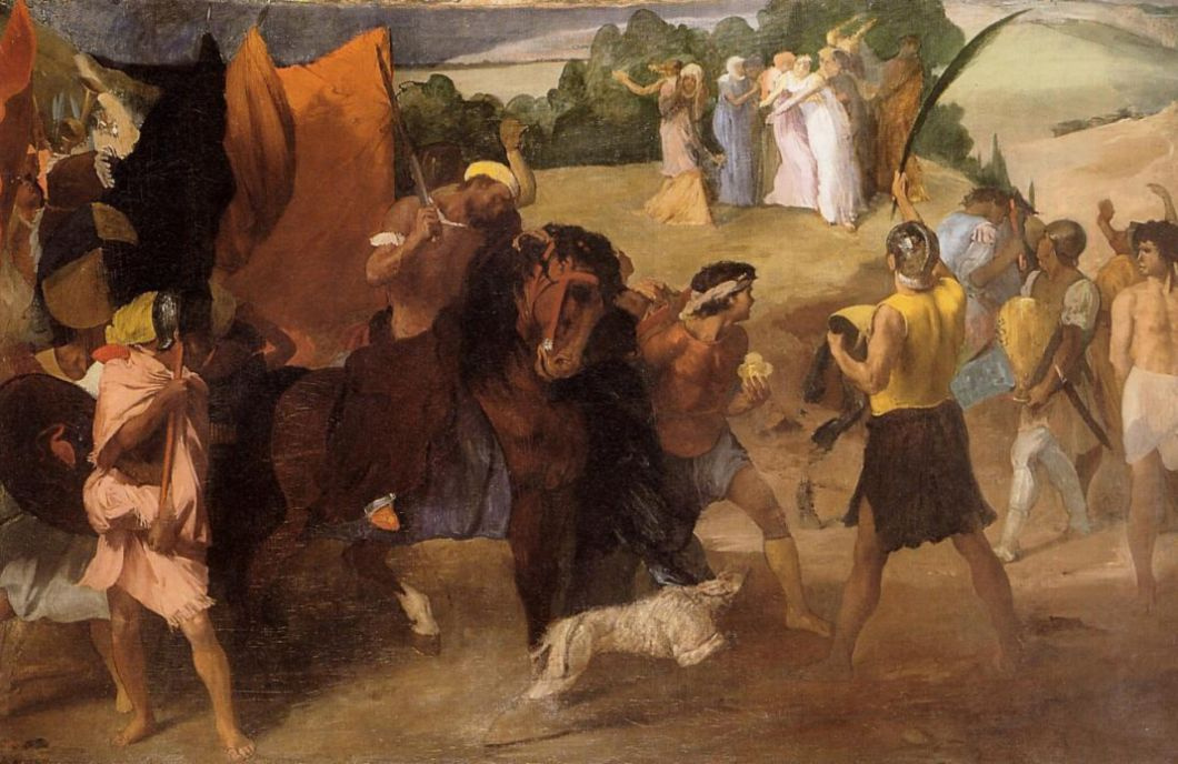Edgar Degas. The Daughter Of Jephthah