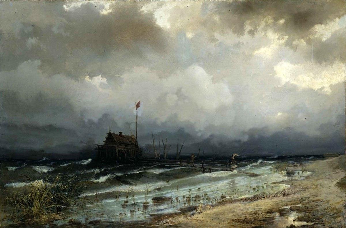 Rufin Gavriilovich Sudkovsky. Before the storm
