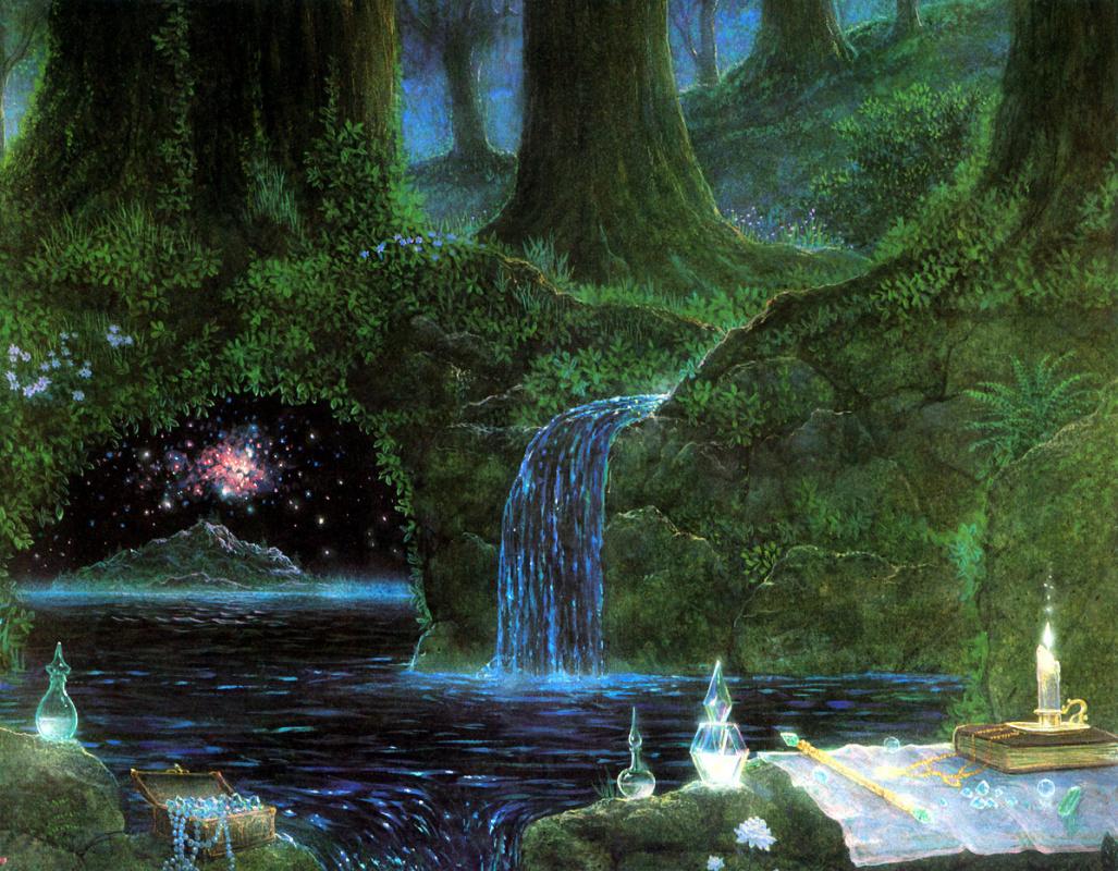 Гилберт Уильямс. Священный лес