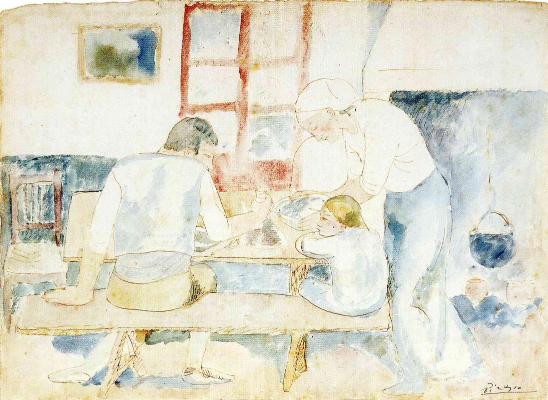 Пабло Пикассо. Время ужина