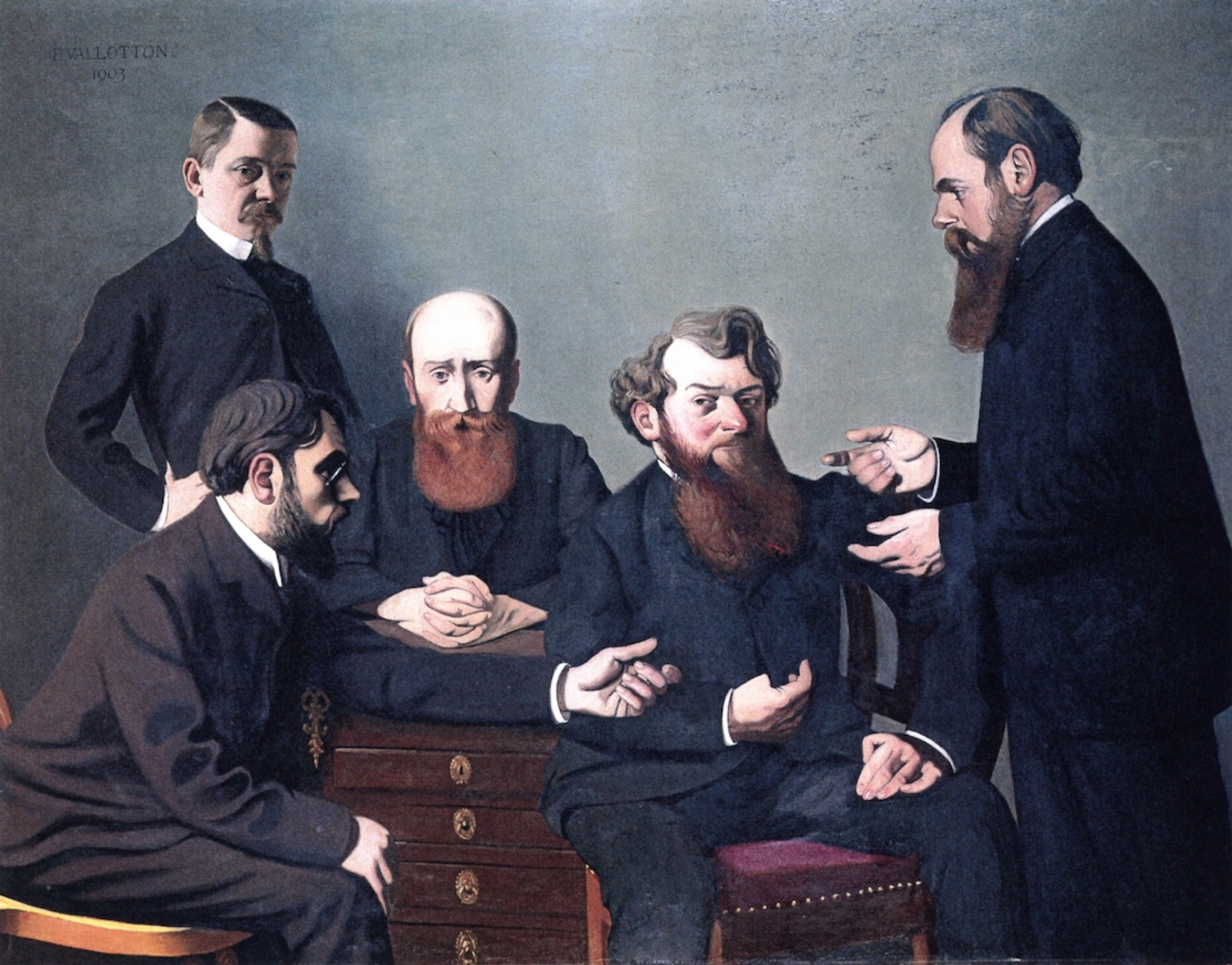 Felix Vallotton. Five artists