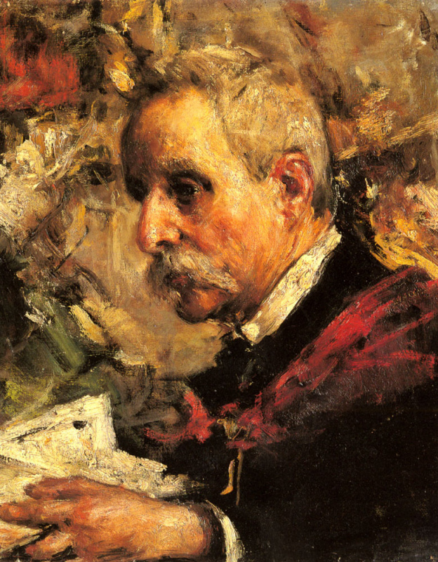 Антонио Манчини. Портрет отца художников