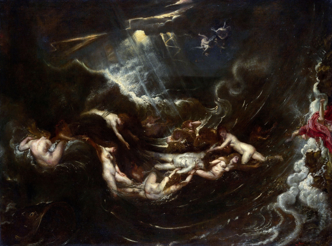 Peter Paul Rubens. Hero and Leander