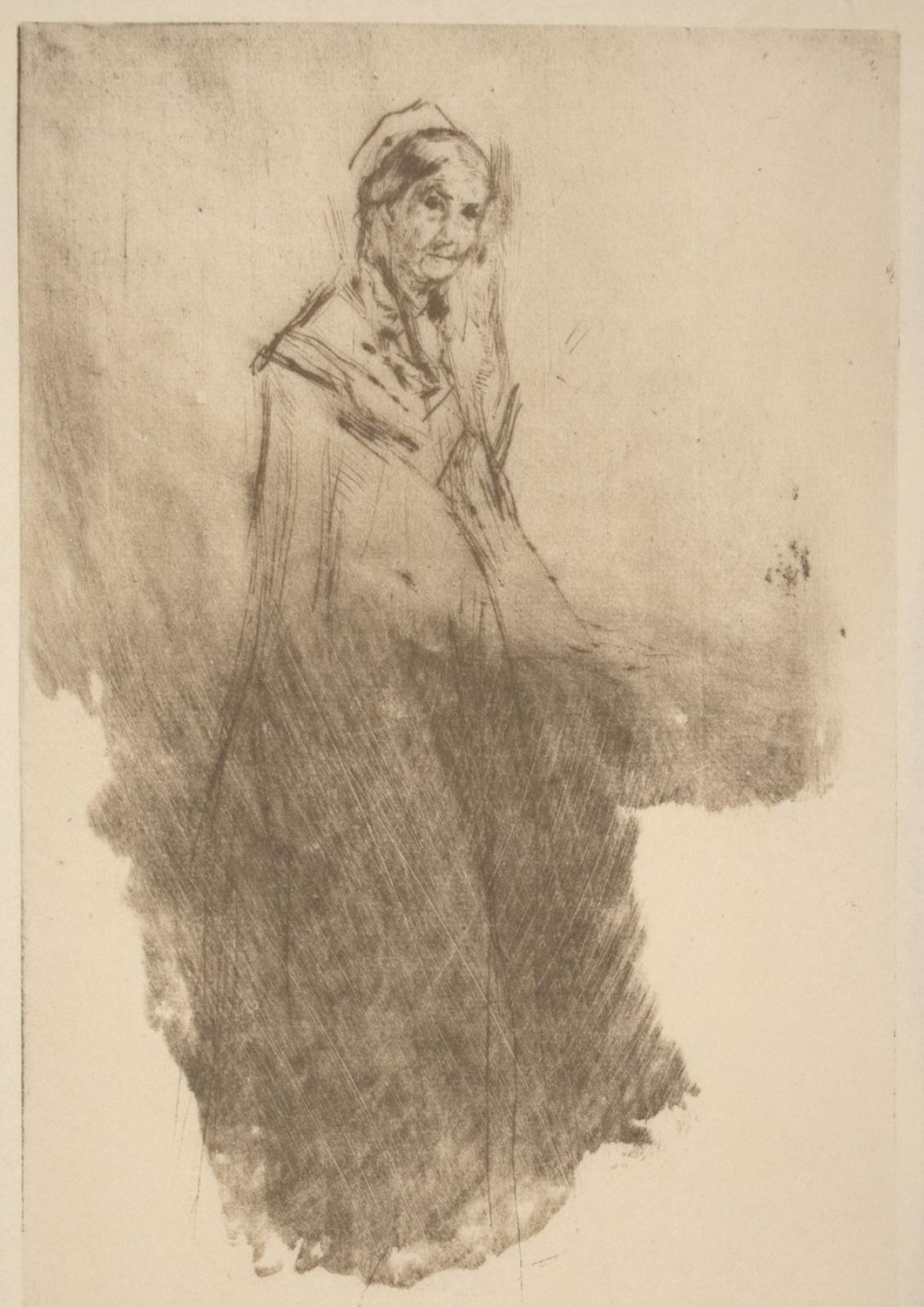 Джеймс Эббот Макнейл Уистлер. Мать художника, эскиз