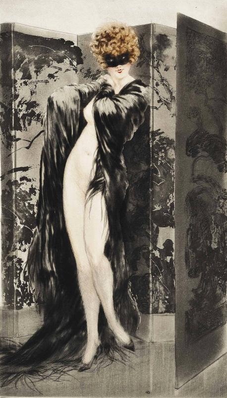 Икар Луи Франция 1888 - 1950. Венецианская шаль. 1921