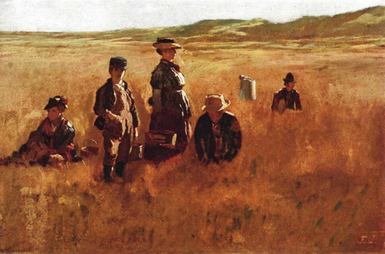 Jonathan Eastman Johnson. In the field