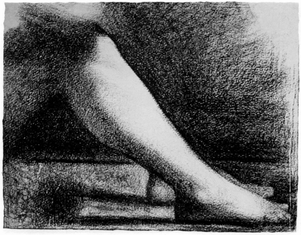 Жорж Сёра. Нога