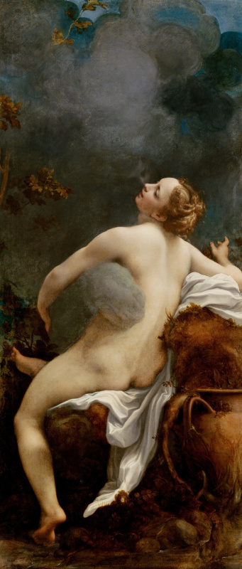 Antonio Correggio. Jupiter and Io