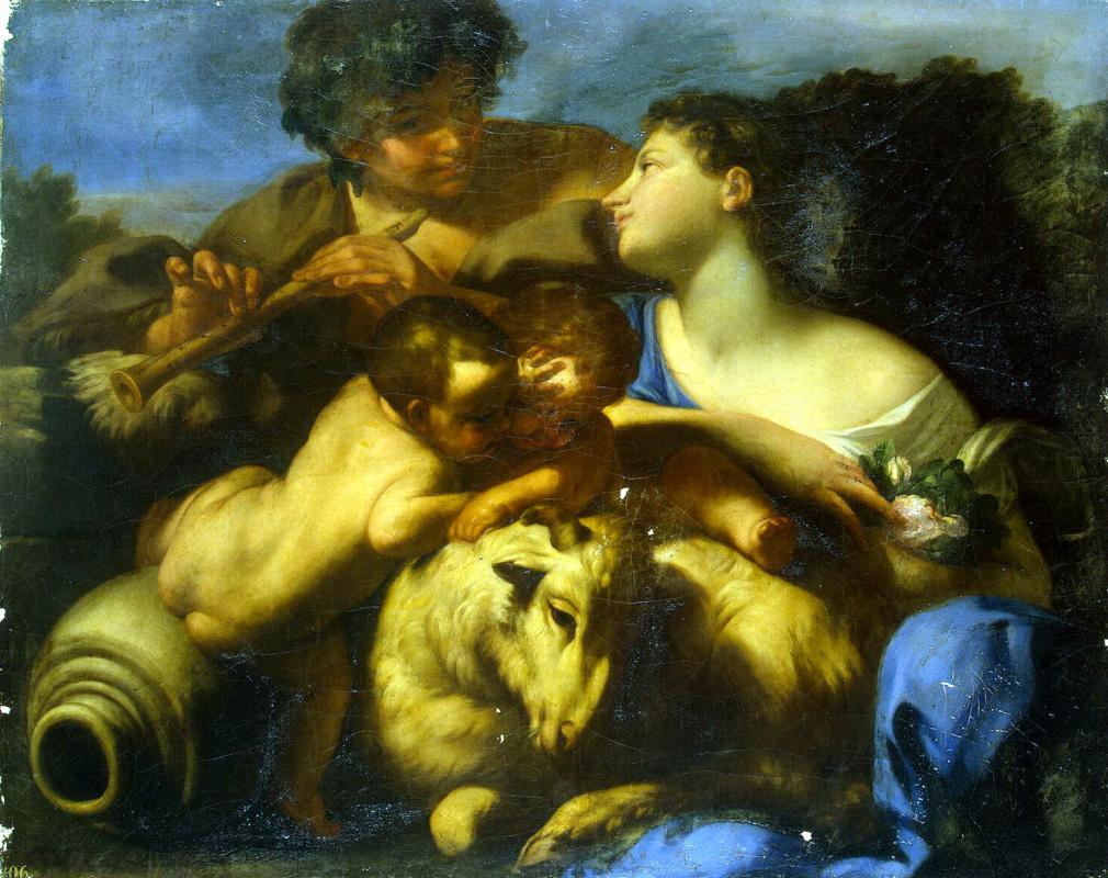 Карло Чиньяни. Пастух и пастушка