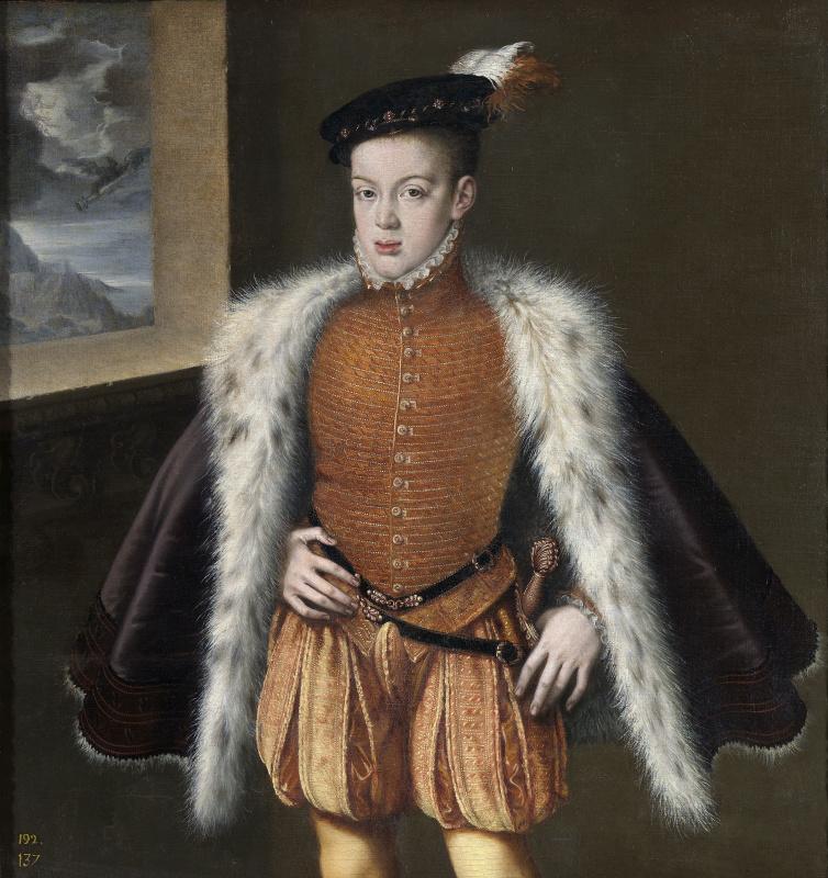 Alonso Sanchez Coelho. Don Carlos, Prince of Asturias