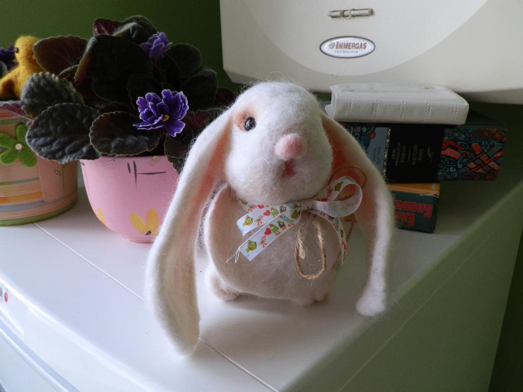 Svitlana Dmitrivna Semaniv. Wallowing h Chirst Bunny