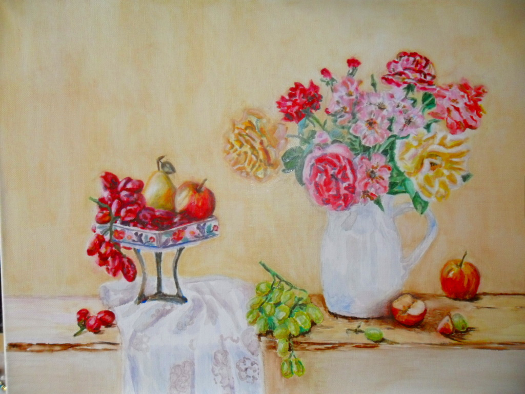 Gulnara Gafarova. Flowers and fruits