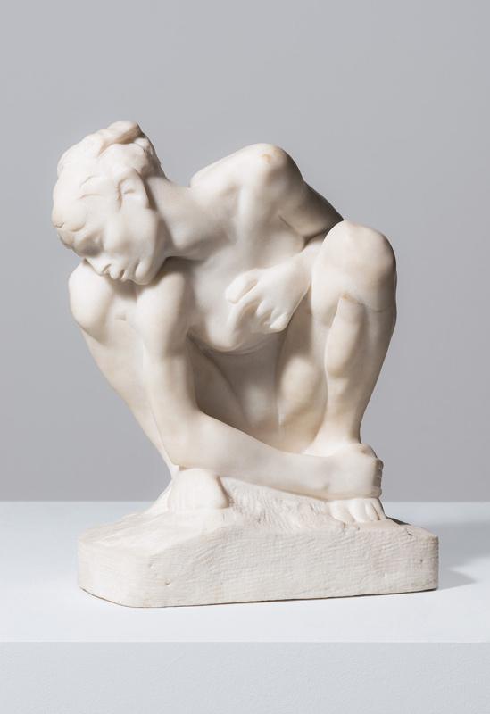 Auguste Rodin. Crouching Woman