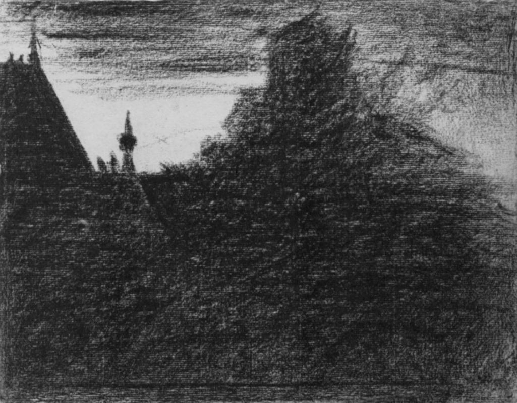 Жорж Сёра. Часовая башенка