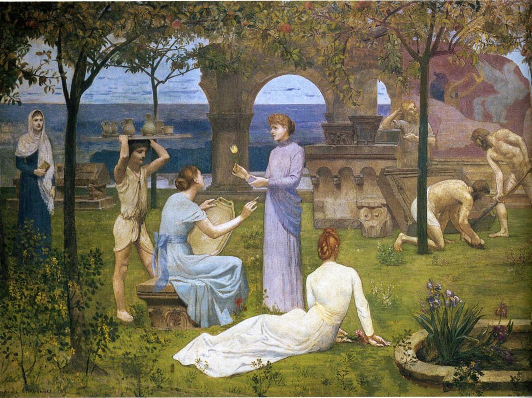 Pierre Cecil Puvi de Chavannes. Between art and nature