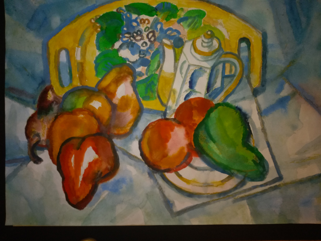 Nikolay Evlampievich Sokolov. Peppers and fruits