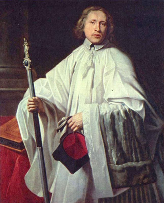 Philippe de Champigny. Portrait Of Jacob Goverts