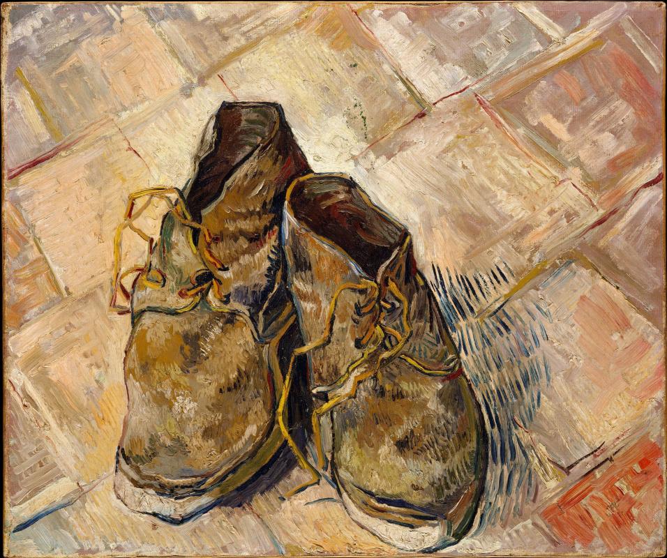 Винсент Ван Гог. Пара ботинок