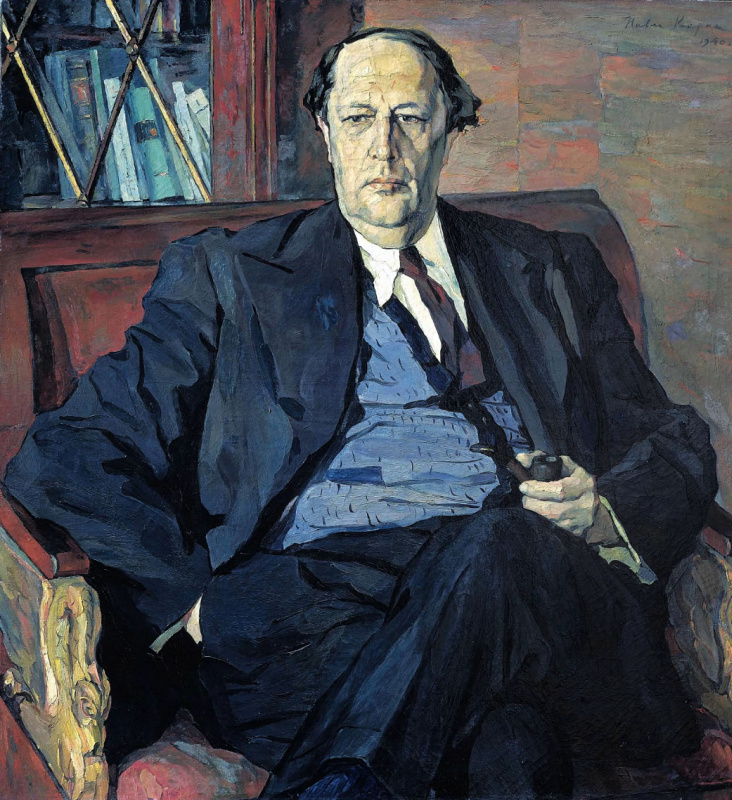 Pavel Dmitrievich Korin Russia 1892 - 1967. Portrait of A. N. Tolstoy. State Russian Museum, St. Petersburg