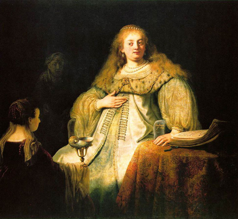 Rembrandt Harmenszoon van Rijn. Sophonisba receiving the Cup of poison