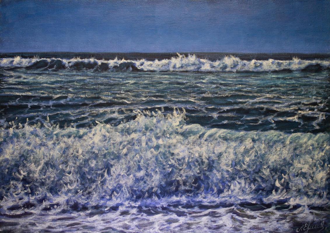 Valery Levchenko. № 621  Морской пейзаж.