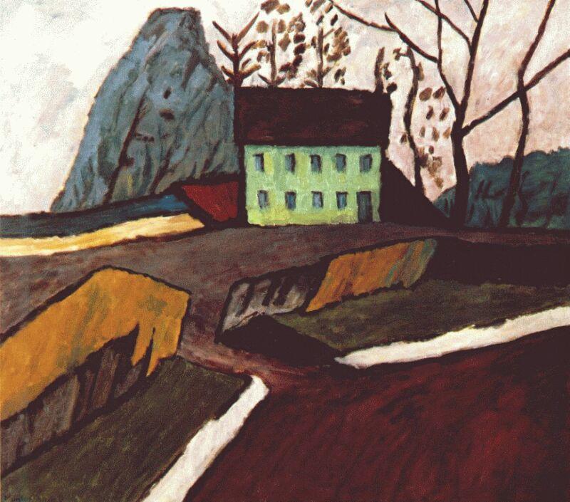 Габриель Мюнтер. Зеленый дом