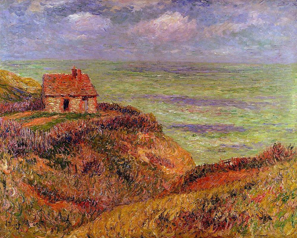 Henry Moret. Rocks in Finistère