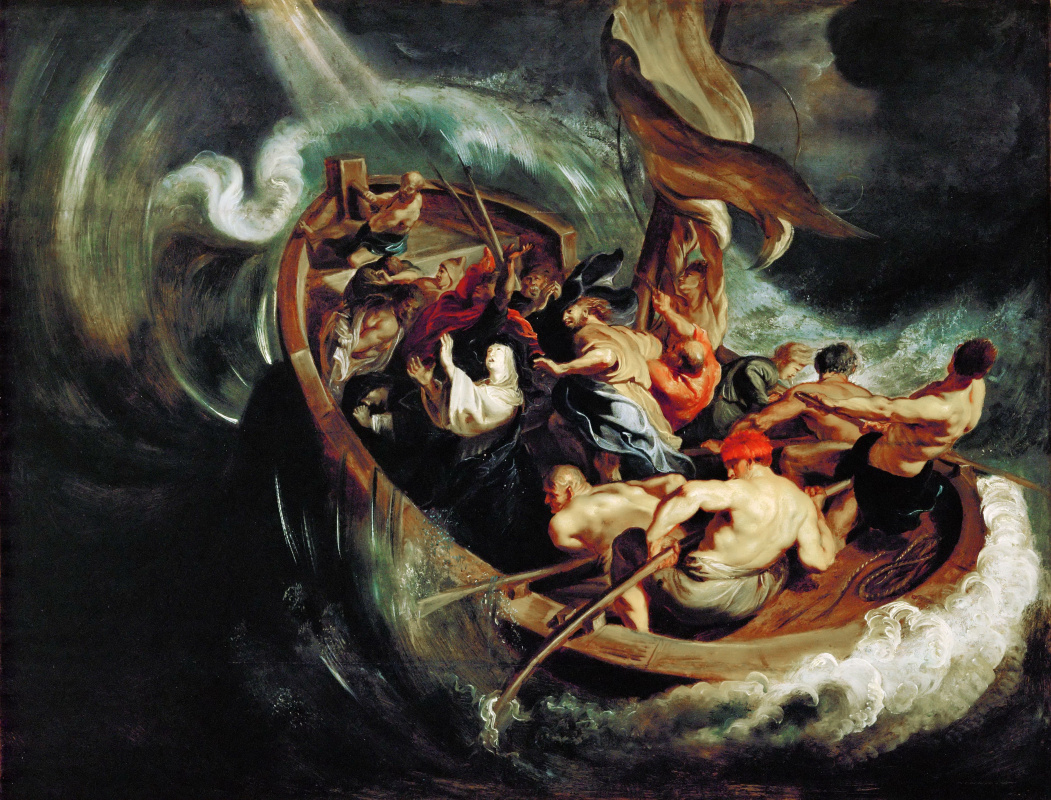 Peter Paul Rubens. Holy Walburga's and the miracle of salvation in a storm