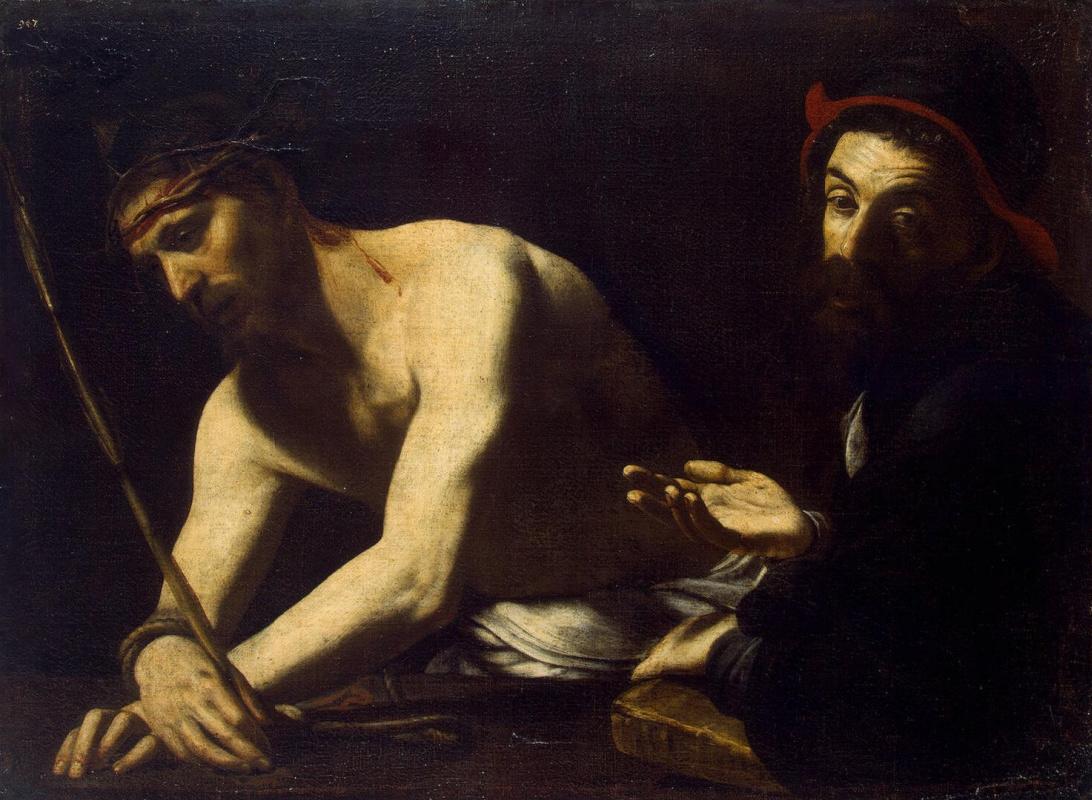 Джованни Баттиста Караччоло. Христос и Кайафа