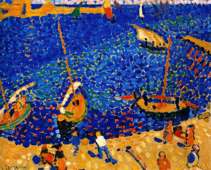 Andre Derain. Boats in Collioure