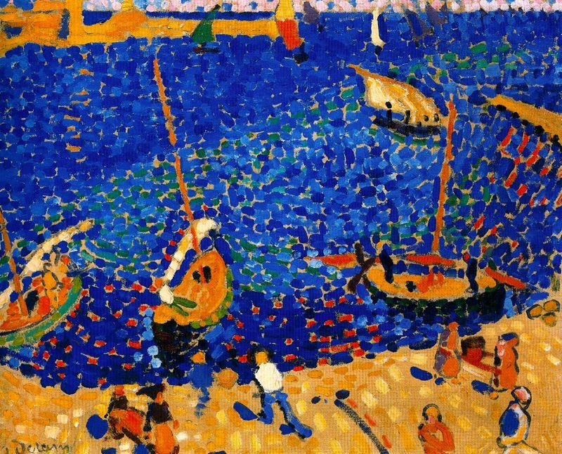 Андре Дерен. Лодки в Коллиуре