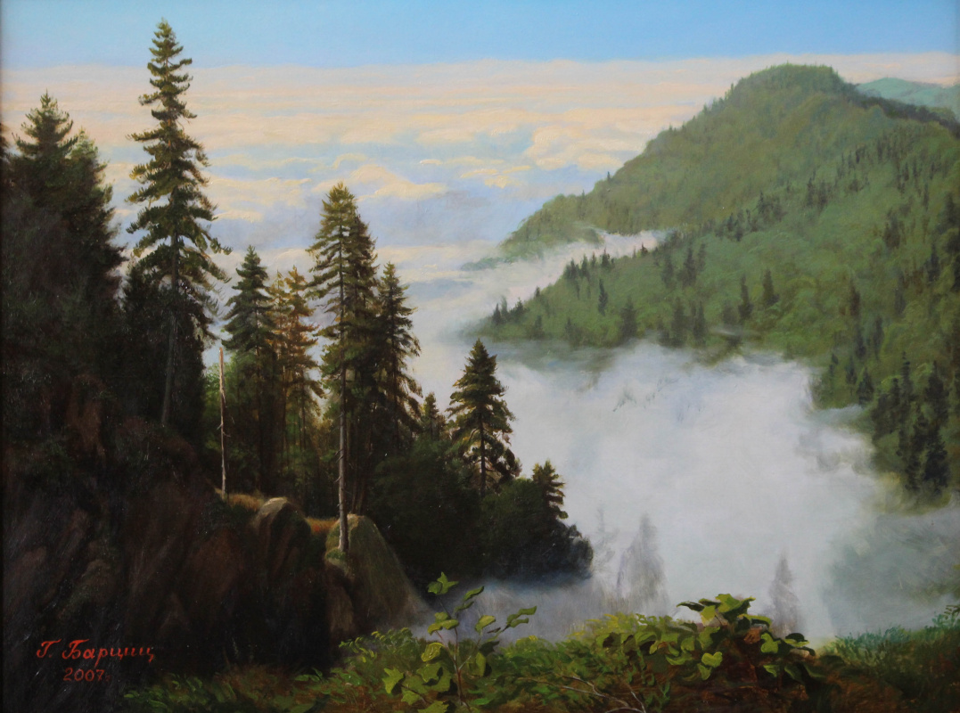 Gennady Shotovich Bartsits. Above the clouds