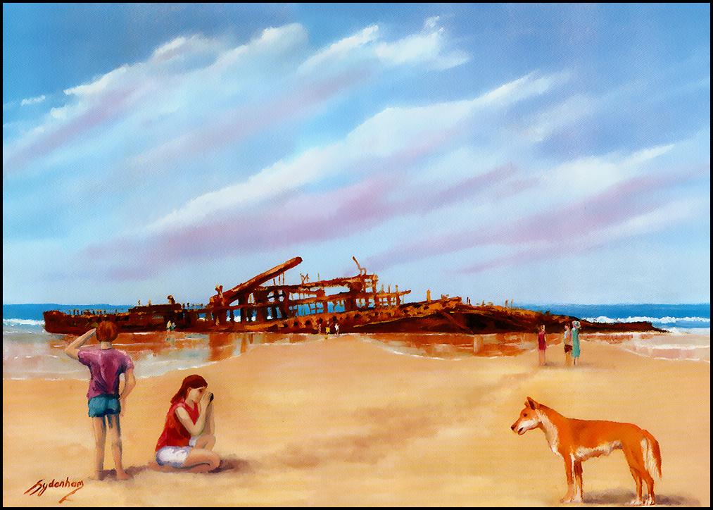 Дениз Сиденхам. Морской пейзаж 3