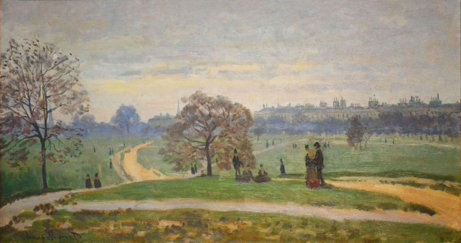 Claude Monet. Hyde Park, London
