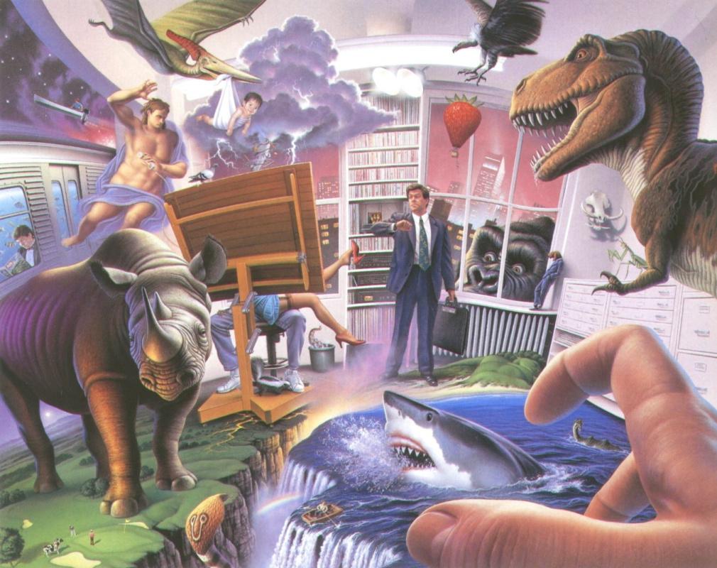 Jerry Lofaro. Dinosaur