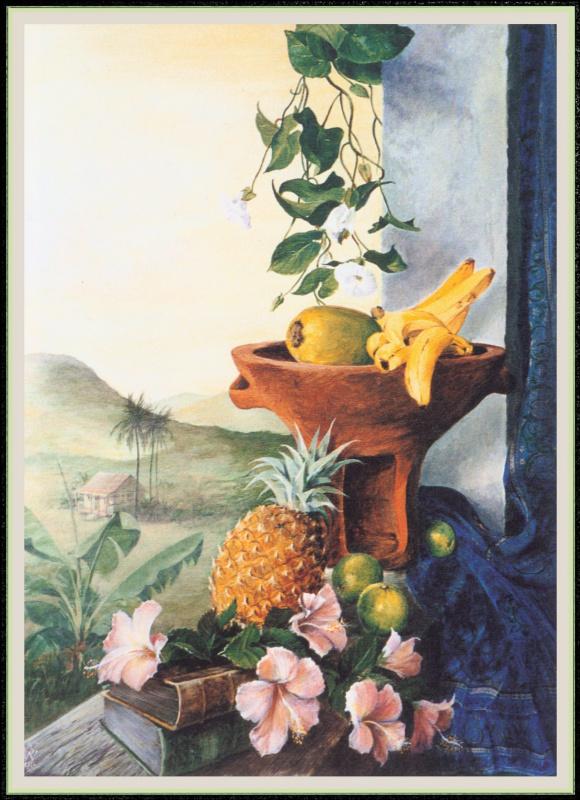 Уильям Вуд. Фрукты и цветы