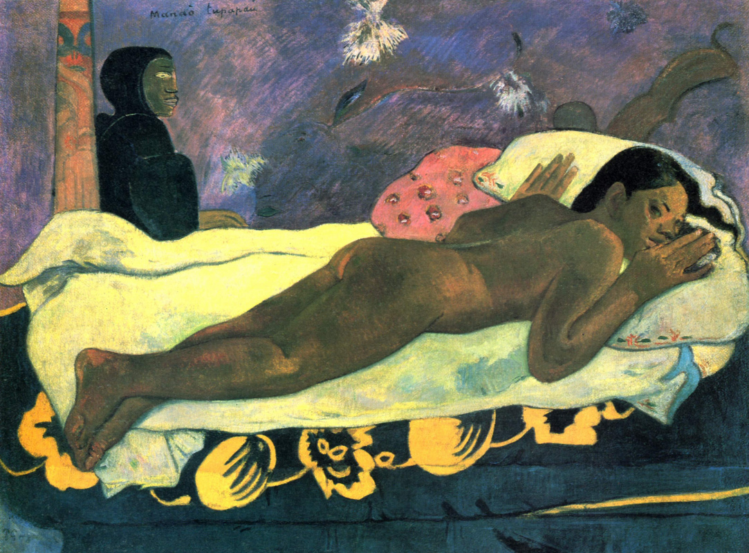 Paul Gauguin. Spirit of the Dead Watching