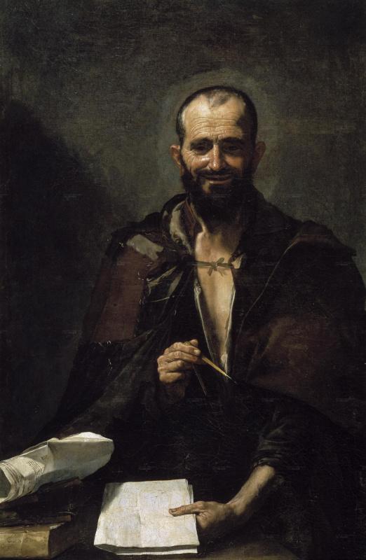 Хосе де Рибера. Демокрит