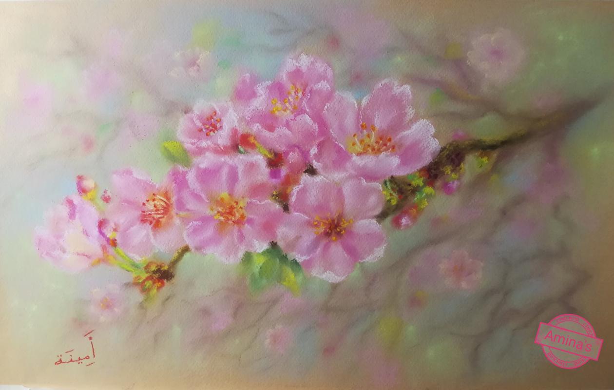Амина. Цветущая вишня