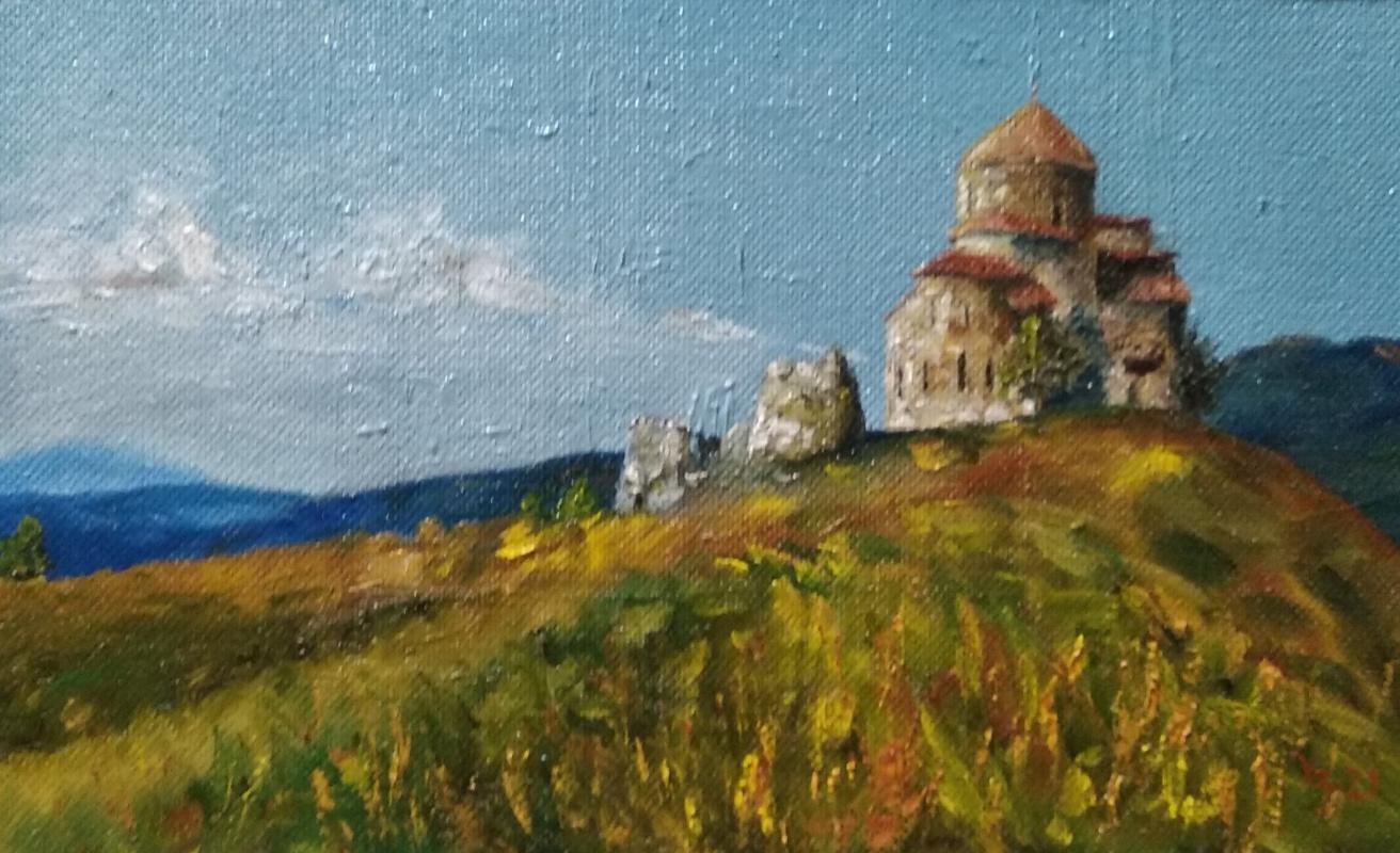Sergei Nikolayevich Khodorenko-Zatonsky. Mtskheta, Vl's Jvari monastery