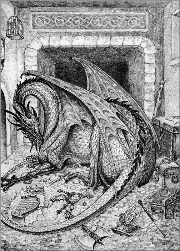 Валери Валусек. Дракон