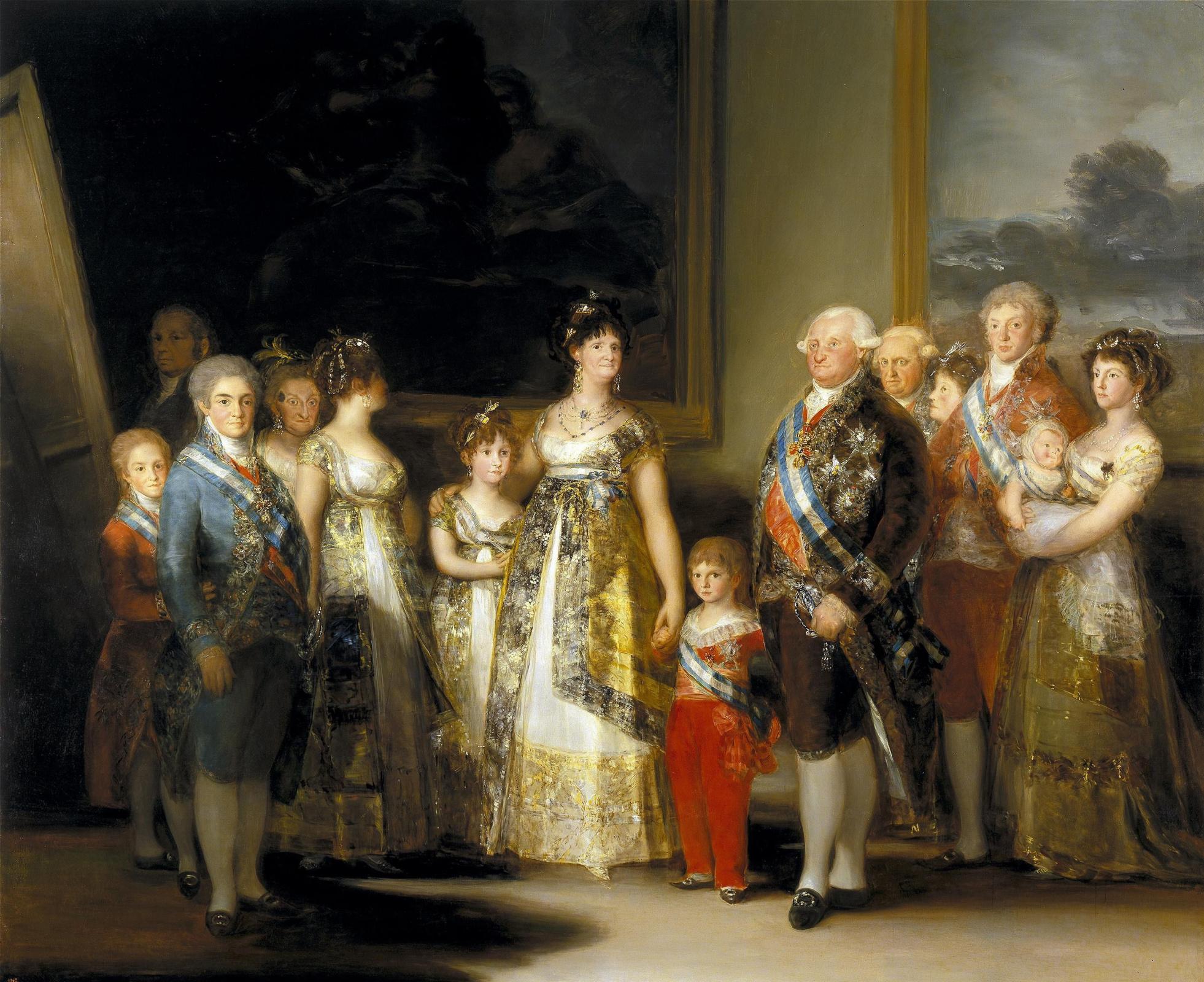 Франсиско Гойя. Король Испании Карл IV и его семья