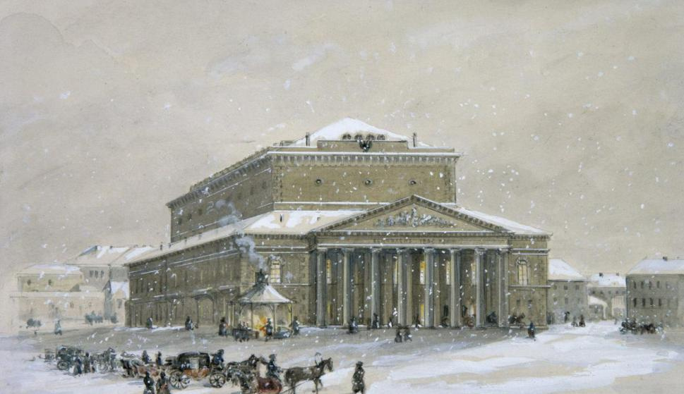 Adolf Iosifovich Charlemagne. Bolshoi Theater, Petersburg