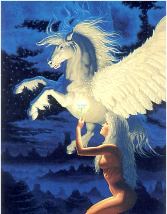 Грег Хильдебрандт. Белые крылья