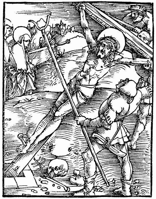 Ханс Бальдунг. Воздвижение креста
