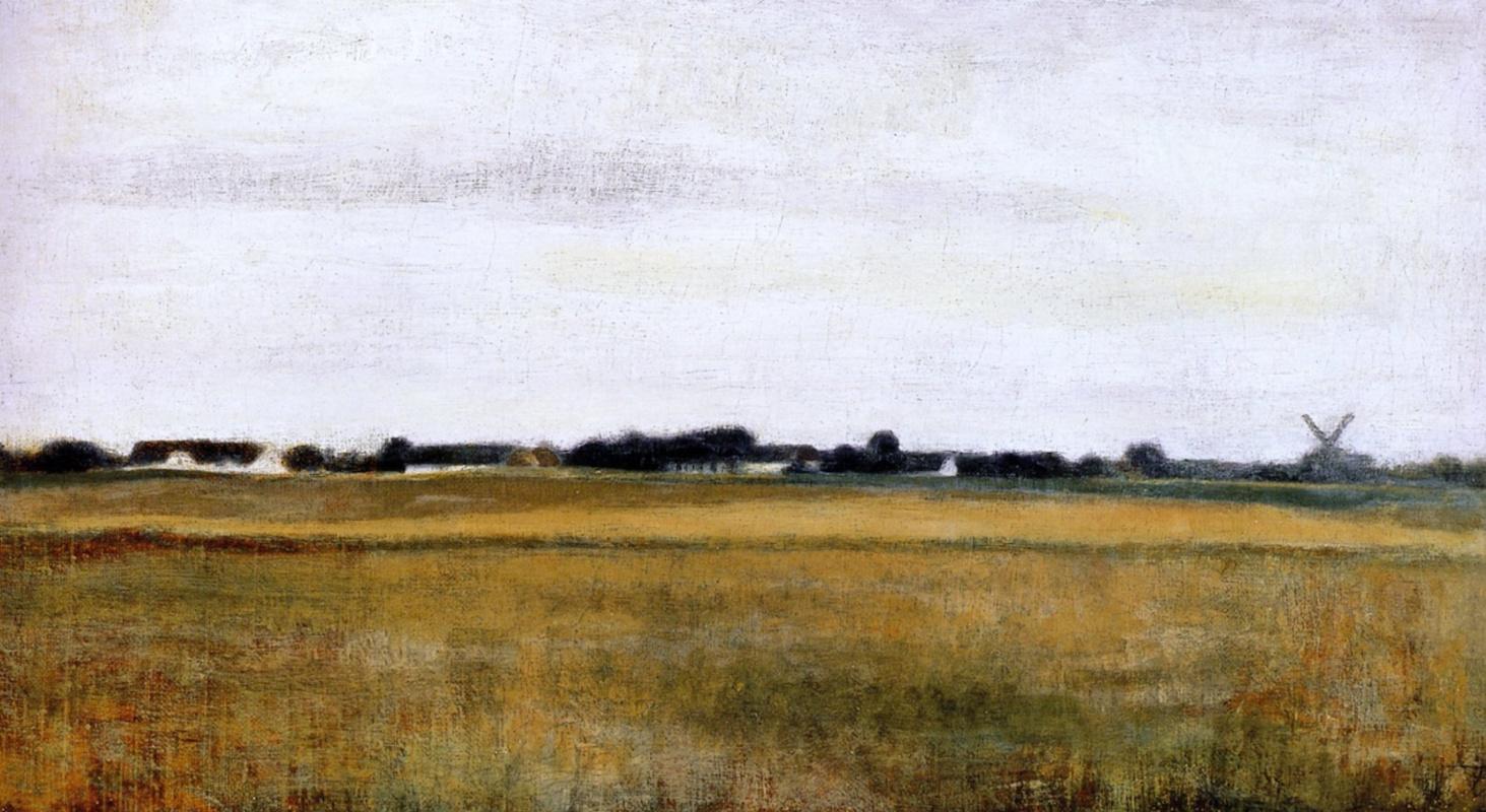 Вильгельм Хаммерсхёй. Летний пейзаж