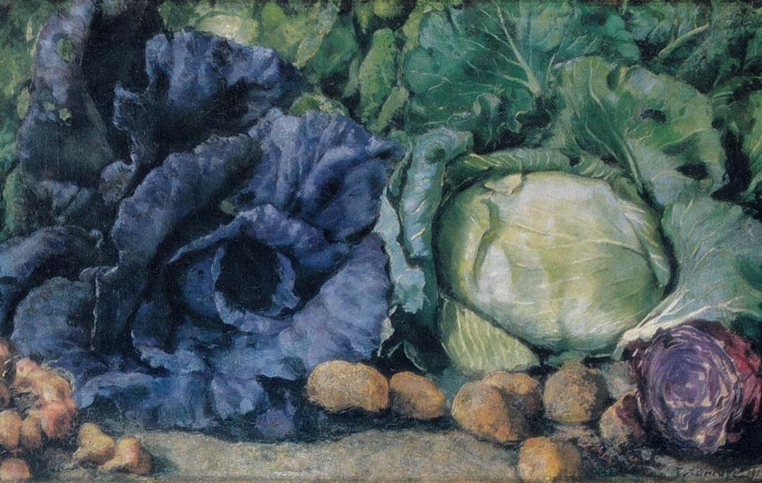 Evgeniy Evgenievich Lansere. Cabbage