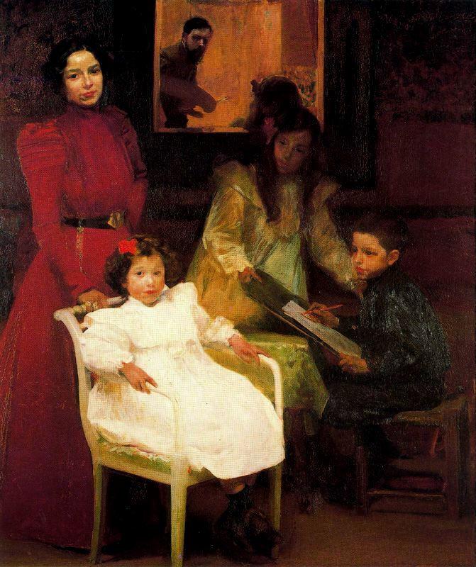 Хоакин Соролья (Соройя). Моя семья
