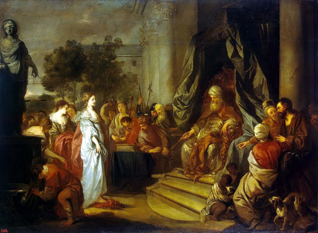 Sir Peter Lely. Trial by fire